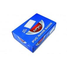 NOKİ YAKA KARTI YATAY KLİPS 50Lİ PK 55150